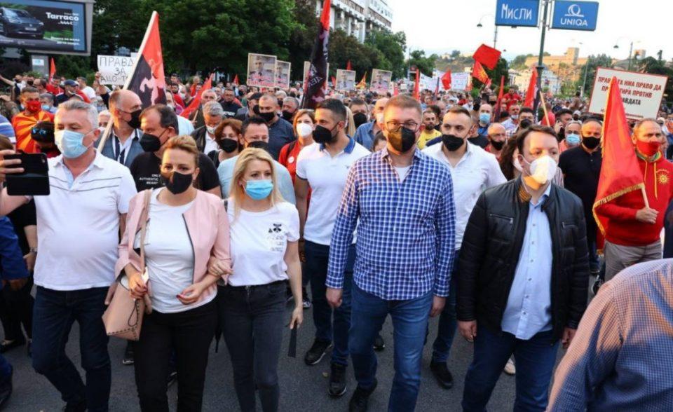 Николоски: Ќе го повикаме целиот македонски народ на улиците ако Заев изврши национално предавство