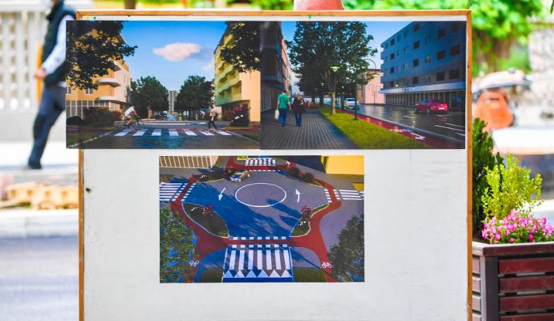 """(ФОТО) Се реконструира улицата """"Орце Николов"""" во Дебар Маало"""