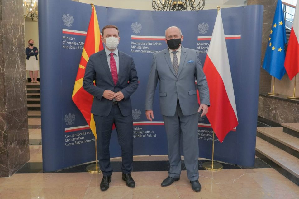 Полска ја потврди поддршката за започнувањето на преговорите за членство на Македонија во ЕУ