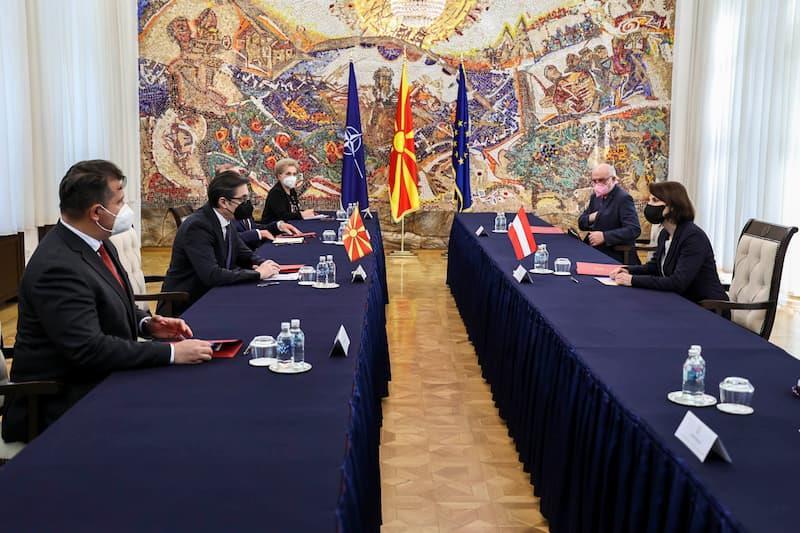 Пендаровски – Едштадлер: Експертизата од Австрија е од големо значење во исполнувањето на стандардите на ЕУ