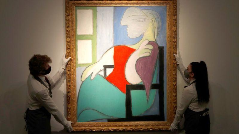 (ФОТО) Сликата на Пабло Пикасо продадена за неверојатни 103, 4 милиони евра