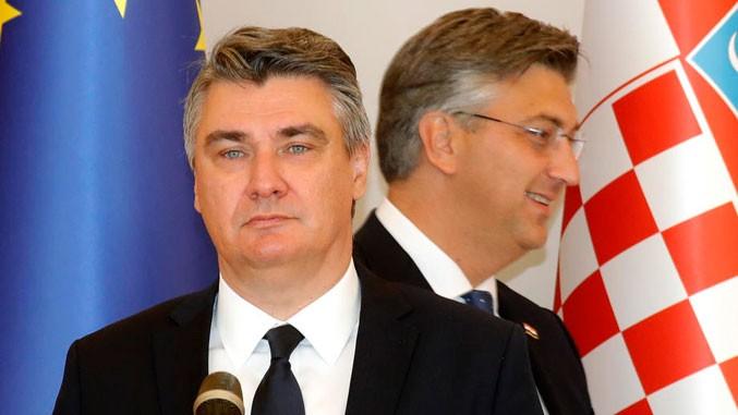 Македонија долеа масло на огнот помеѓу претседателот и премиерот на Хрватска