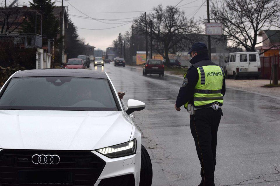 Полицијате не мирува и за време на празниците: За брзо возење казнети 79 возачи на автопатот Велес-Скопје-Куманово
