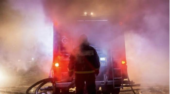 Изгореа три возила при пожар во подземна гаража во Охрид