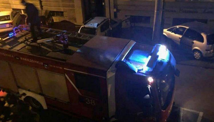 Изгаснат пожарот во Чаир, нема повредени