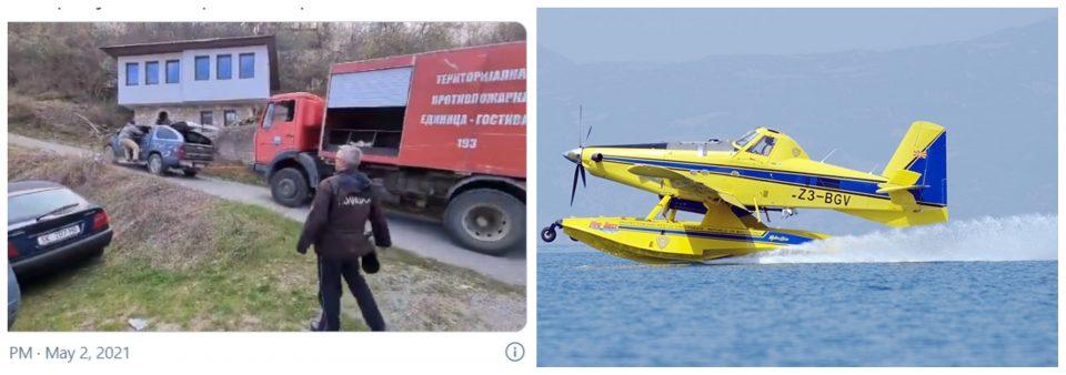 """Зошто кај Галичник не интервенираа """"ер-тракторите"""" на Дирекцијата за заштита и спасување?"""