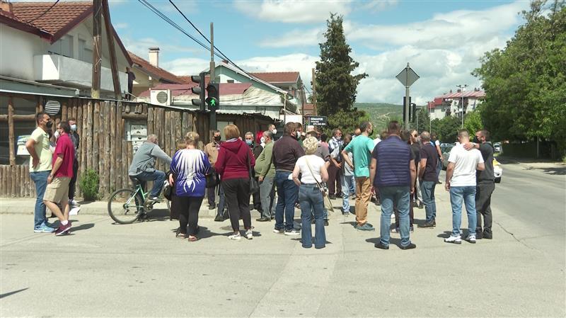 Протест на жителите на Даме Груев: Името на населбата е избришано од сите нивни документи