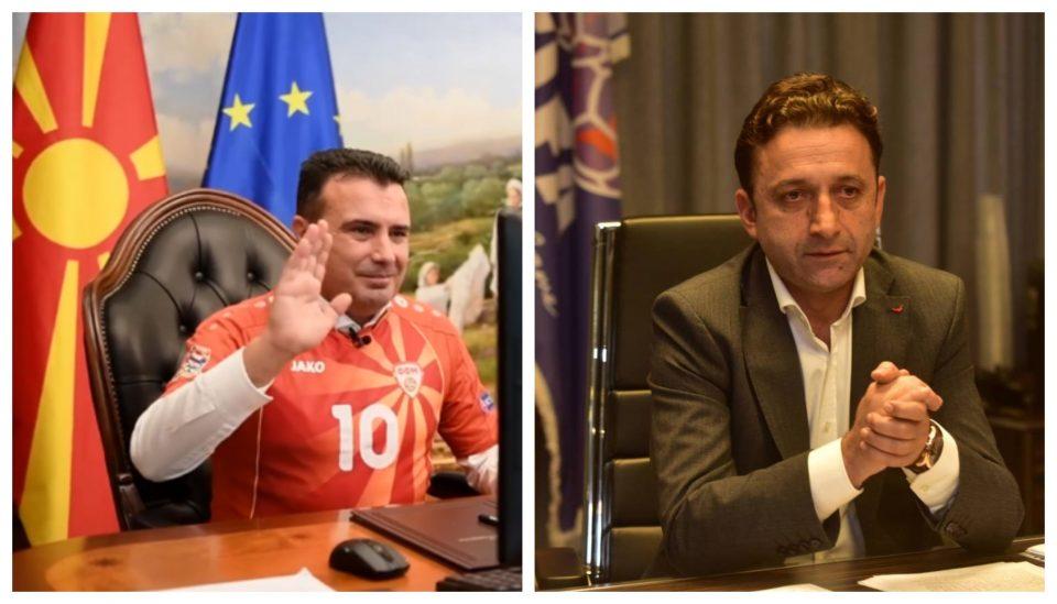 """Сејдини му удрил """"корпа"""" на Заев – не дозволил да се сретне со фудбалерите"""