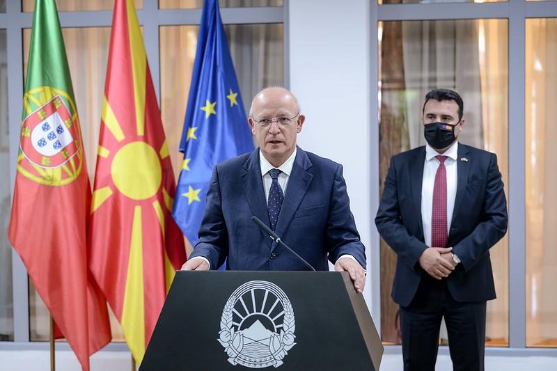 Силва: Цел ни е Скопје и Тирана да ги почнат преговорите за време на португалското претседателство со ЕУ