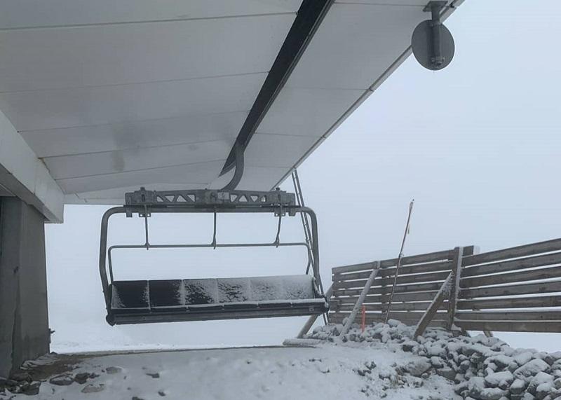 (ФОТО) Летото започна со снег во Босна