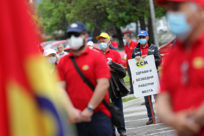 Синдикатите испорачаа барања за почитување на работничките права