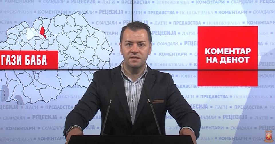 Стефковски: Изградба на фабрика за горење на хемиски отпад во Гази Баба ќе го загади воздухот