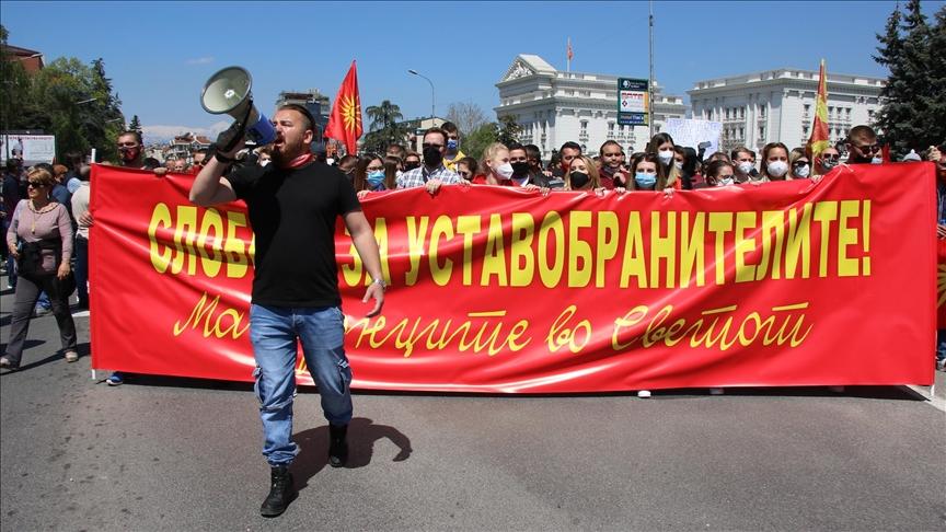 Денеска нов протест за слобода на осудените за упадот во Собранието