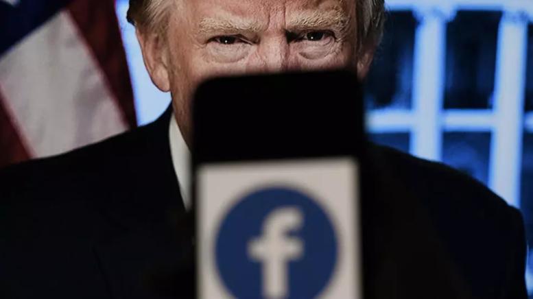 """""""Фејсбук"""" ја потврди одлуката за блокирање на сметката на Трамп"""