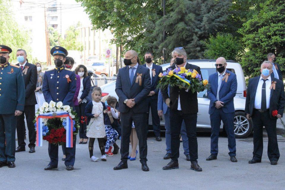 Одбележан Денот на победата над фашизмот во Општина Центар