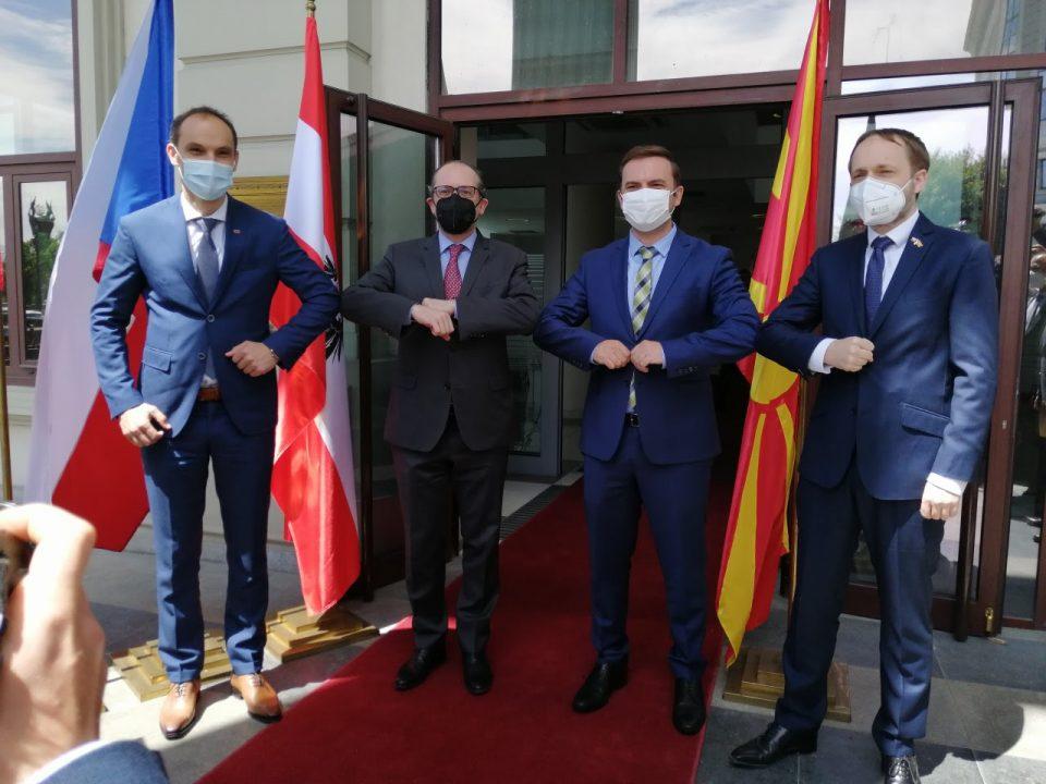 Министрите на Австрија, Словенија и Чешка ја подржуваат португалската иницијатива
