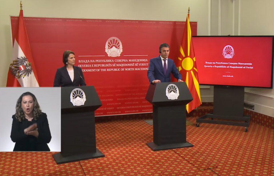 Раздвојувањето на Македонија и Албанија во пристапниот процес кон ЕУ треба да се спречи, вели Едштадлер