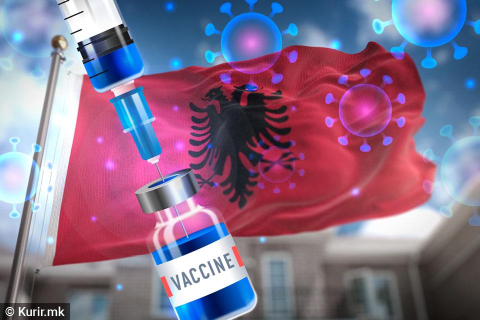 Без застој тече вакцинацијата во Албанија, до сега имунизирани над 770.000 граѓани
