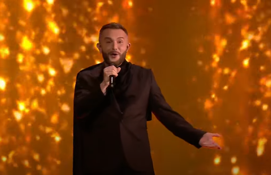 (ВИДЕО) Погледнете го евровизискиот настап на Васил Гарванлиев