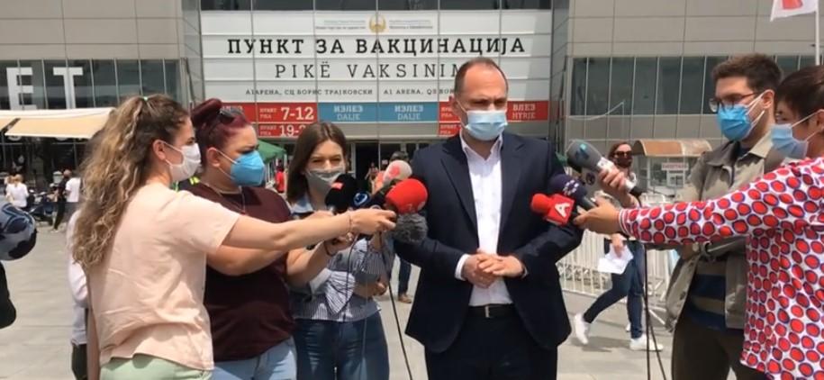 (ВО ЖИВО) Изјава на министерот за здравство Венко Филипче
