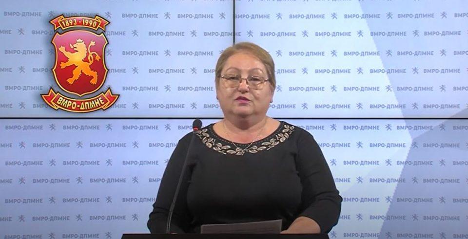 Јаневска: Народот не ги прифаќа реформите на Царовска