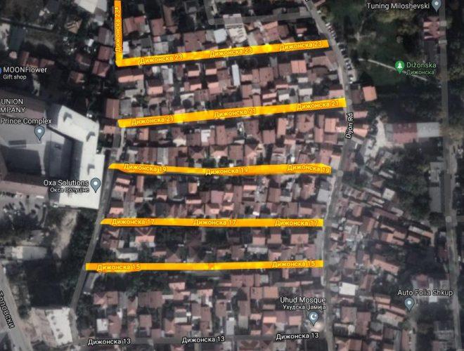 Власта ќе потроши 40 милиони денари за водоводната мрежа за шест улици во општина Чаир