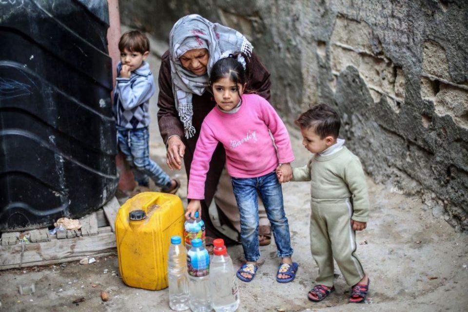 ОН: 800.000 луѓе во Газа немаат пристап до вода за пиење