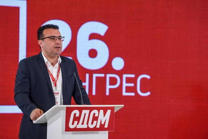 (ВО ЖИВО) Прес-конференција на претседателот на СДСМ, Зоран Заев