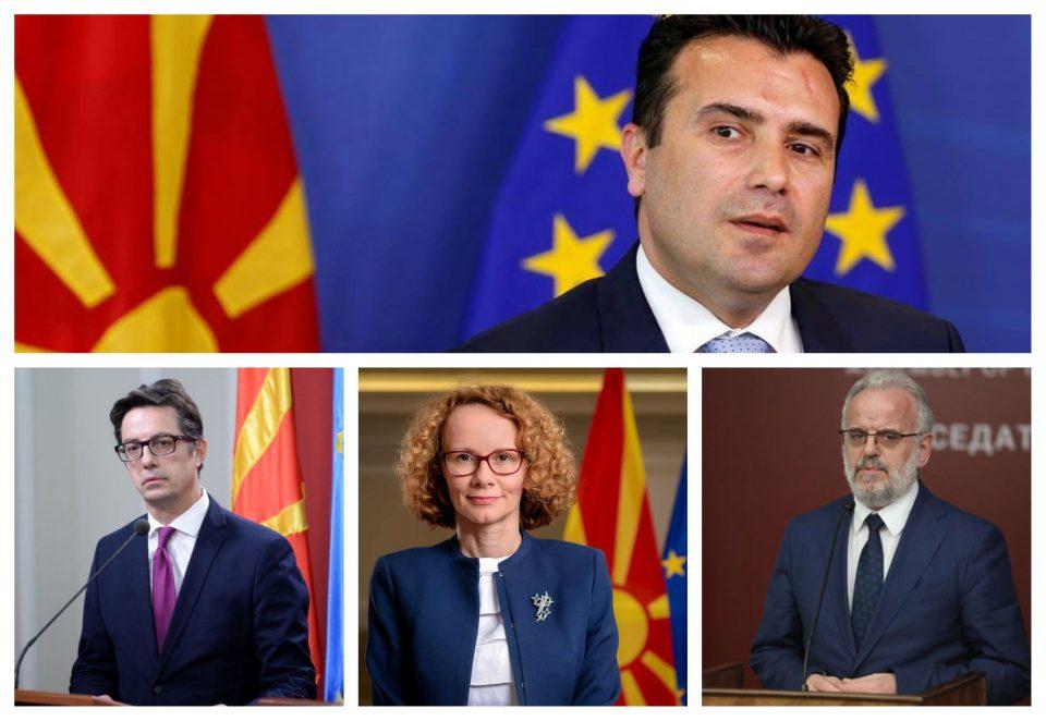 """(ФОТО) Џафери,Заев,Пендаровски и Шеќеринска присуствуваа на """"Денот на високи гости"""" на Криволак"""