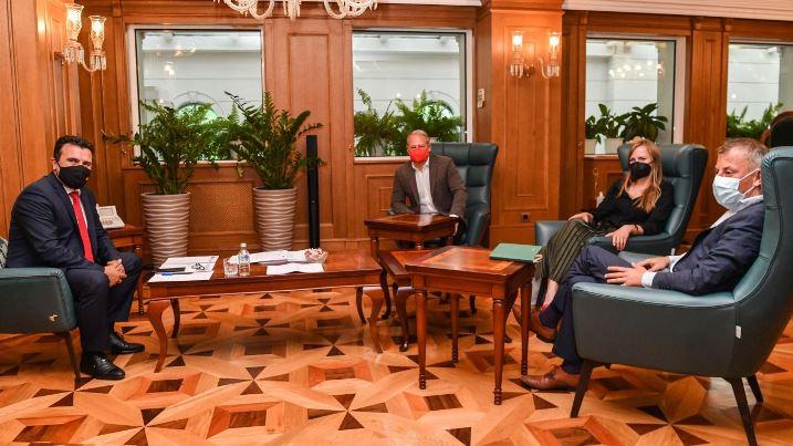 Заев – Шидер: Потребно е сите политички субјекти да придонесат за ефикасен Парламент