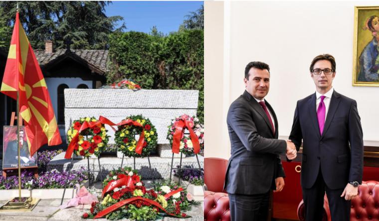 Заев и Пендаровски конечно ја одбележаа смртта на Гоце Делчев, но со објави на социјалните мрежи