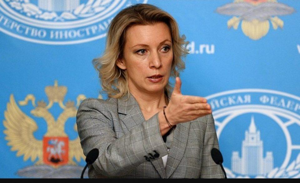 Захарова до Османи: На што мислеа во Скопје кога ја носеа одлуката за протерување на рускиот дипломат?
