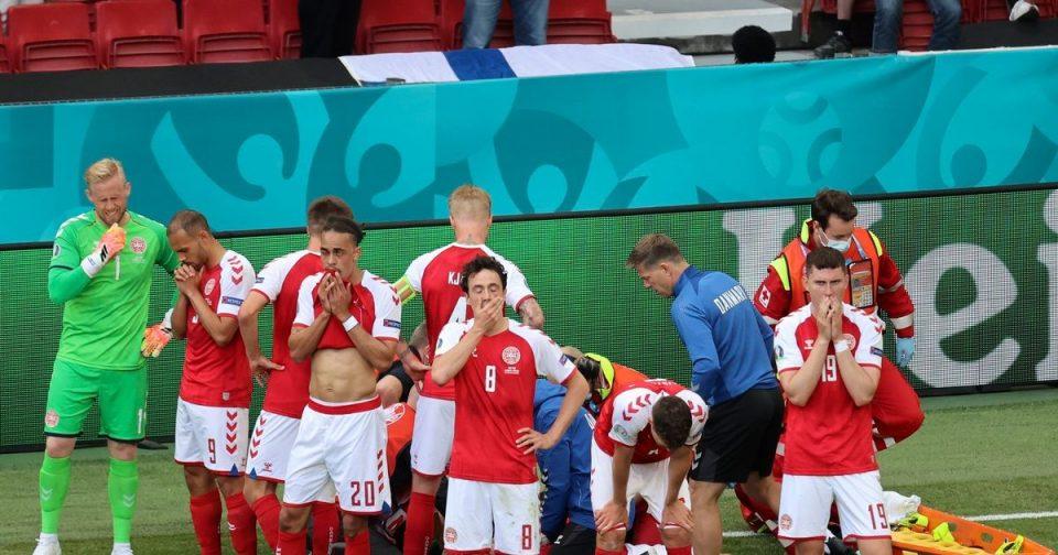 Данските репрезентативци во шок, пресреќни – Ериксен им го прекина тренингот