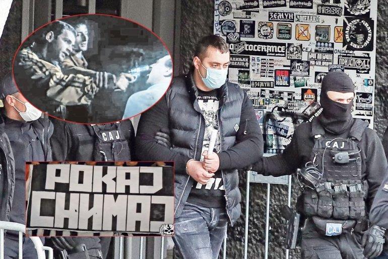 Беливук и неговиот соработник Декстер ги мачеле жртвите по реплика од филм