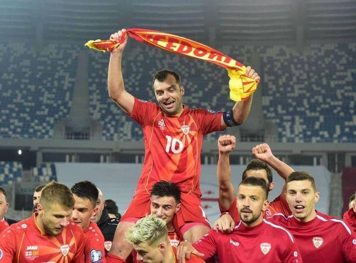 Македонија бележи пад од две места на најновата ранг-листа на ФИФА