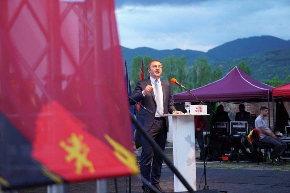Паѓаа во несвест дека долгот бил 38 осто кога ВМРО имаше влада? Е сега тој е 63 отсто, вели Мицкоски