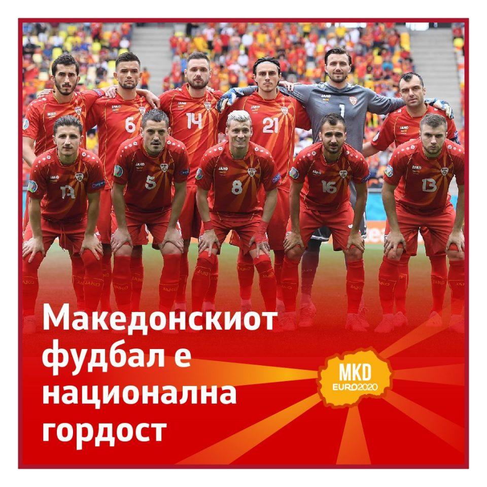 Заев: Македонскиот фудбал е национална гордост