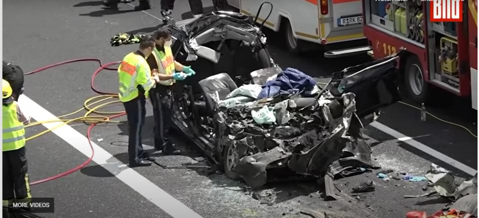 (ВИДЕО) Удриле во камион: Четворица млади Срби загинаа во Германија