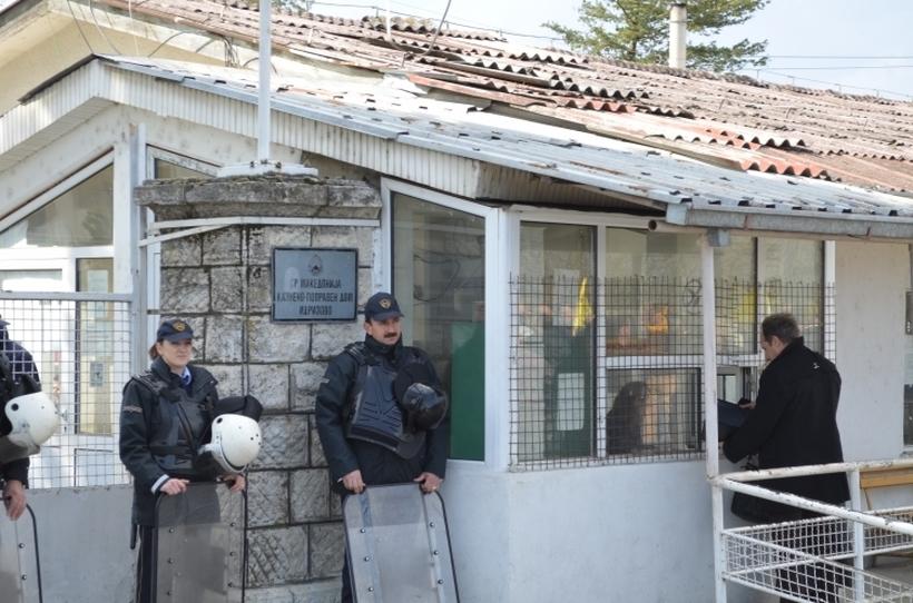 Чувар ранет во Идризово, затворениците се обиделе да спречат претрес на една ќелија