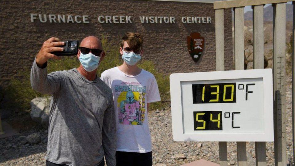 Екстремно топлотен бран во САД