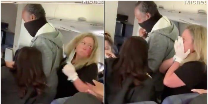 (ВИДЕО) Стјуардеса брутално нападната од патничка