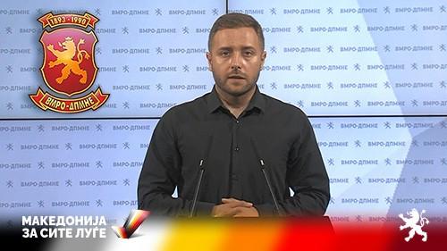 Арсовски: Јавноста да не наседнува на спиновите, единствениот договор на Заев и Ахмети кој функционира е тој за криминал и тендери