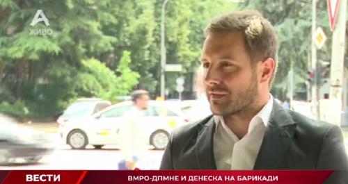 Арсовски: ВМРО-ДПМНЕ ги организира секојдневните блокади во име на граѓаните, СДСМ нема да ги заплаши граѓаните