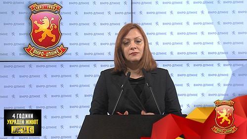 Димитриеска Кочоска: Ребалансот на буџетот во насока на предизборен поткуп