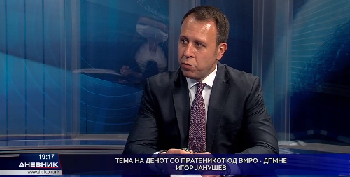 Јанушев: Единствено зелено во оваа Влада помеѓу СДСМ и ДУИ е зелената боја на еврата