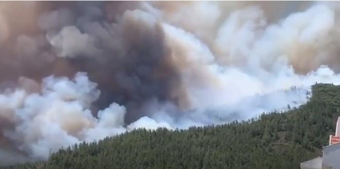 (ВИДЕО) Голем пожар беснее во Мармарис, во близина има туристи