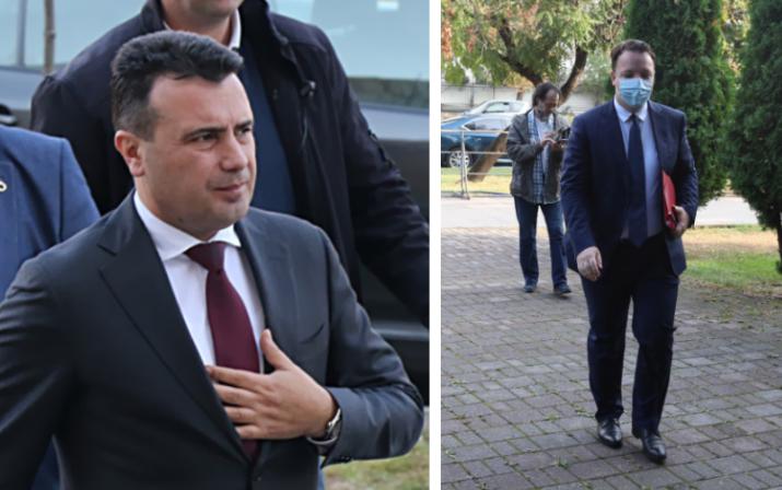 (ВО ЖИВО) Изјава на Александар Николоски по судењето со Зоран Заев