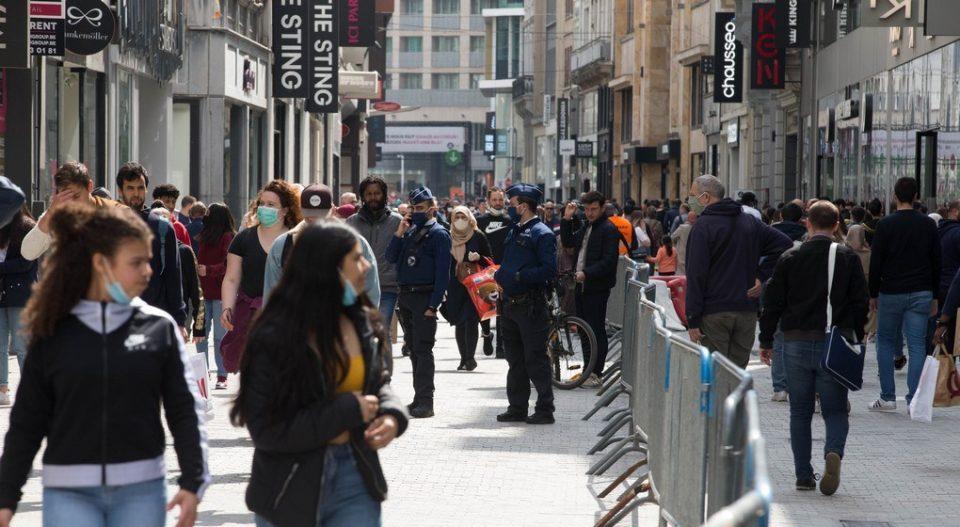Маските на отворено нема да бидат задолжителни во Брисел од 9 јуни