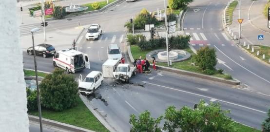 """(ФОТО) Утрово тешка сообраќајка кај """"Скопјанка"""""""