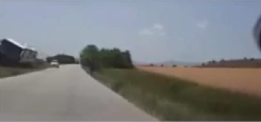 (ВИДЕО) Патнички автобус излета од патот на патниот правец Прилеп-Битола